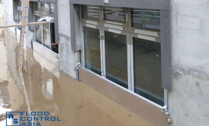 The RS Demountable Flood Barriers are perfect flood defenses for malls, offices, and business establishments.