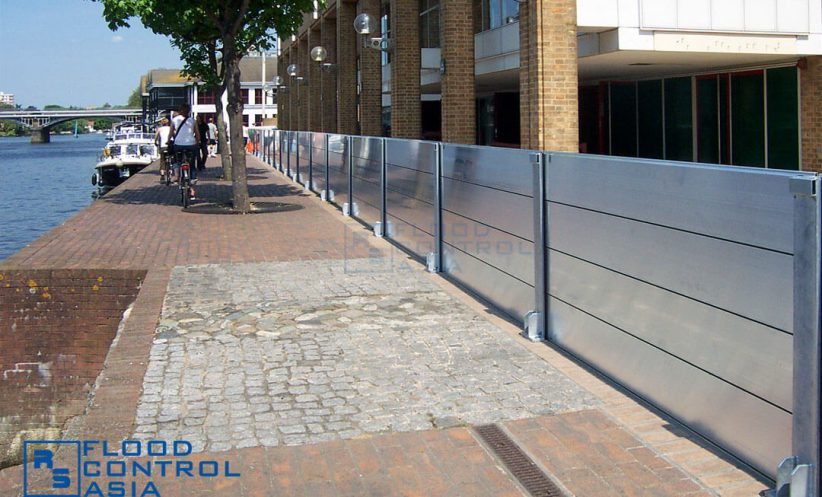 RS Demountable Flood Barriers can work as temporary flood protection even for whole communities.