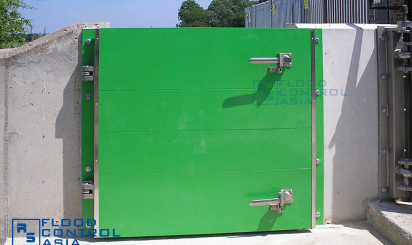 This type is not just a residential floodgate; it is also best for industrial sites where flood protection systems are needed to secure sets of equipment