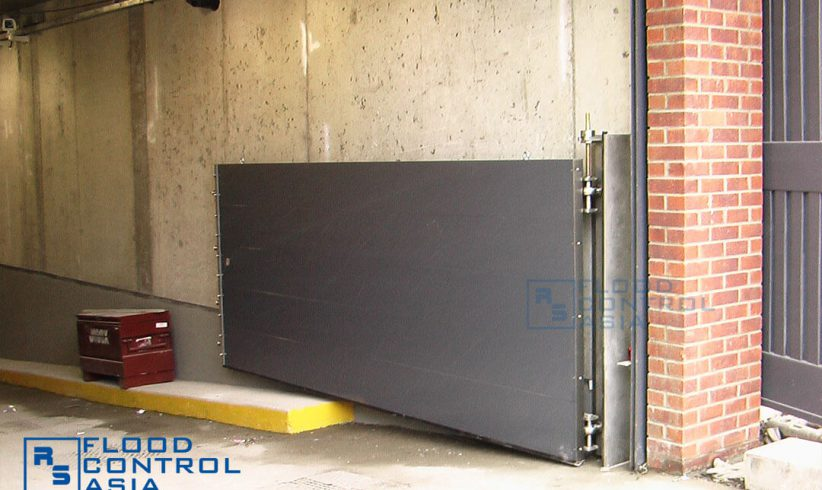 If the lift-hinged type is perfect for driveways, it is also ideal for underground parking lots.