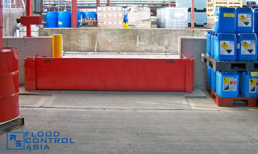Pivot-Hinged Barriers can effectively isolate areas affected by chemical spills.