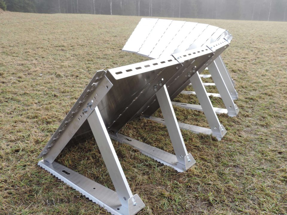 The Inero Mobile Flood Barriers can be installed in sharp corners, turns, curves, and slopes.