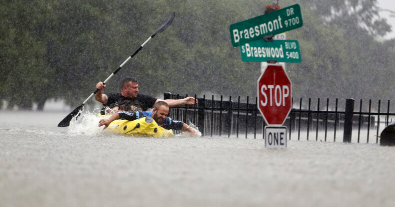 Flooding in Thailand and USA