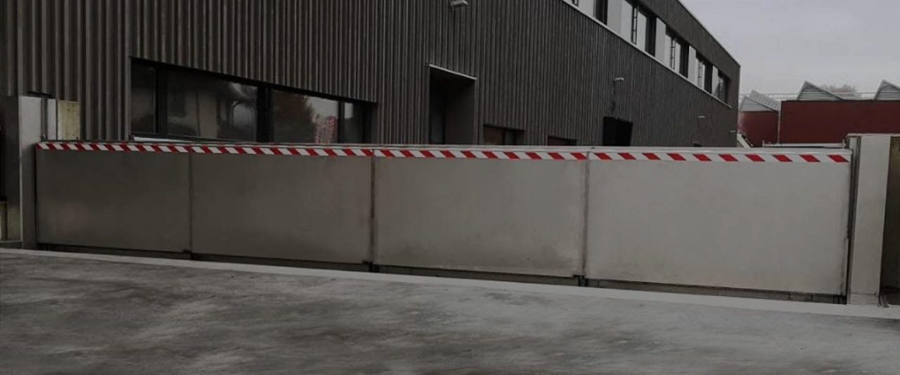 FCA Banner Anhamm automatic flood barrier