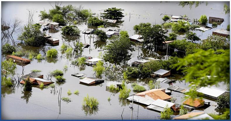 South America-Submerge by Flood