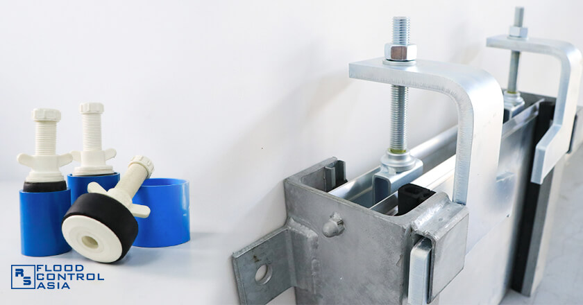 Metal Barrier and drain plugs