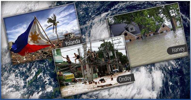 typhoon hit the philippines