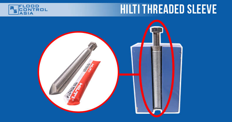 Hilti_threaded_sleeve_with_screw