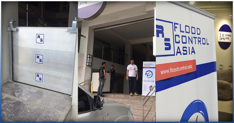 Cagayan de Oro flood control rs barrier installed