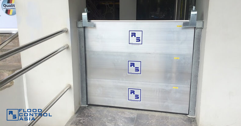 Flood Control Asia RS 1A Express hotel flood control RS Demountable barrier