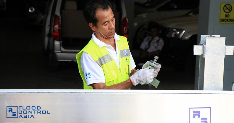 Flood Control Asia RS locking system