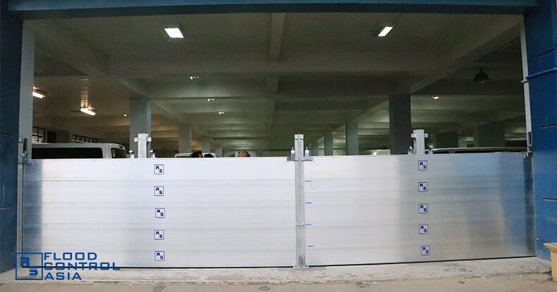 Flood Control Asia RS ready for flooding