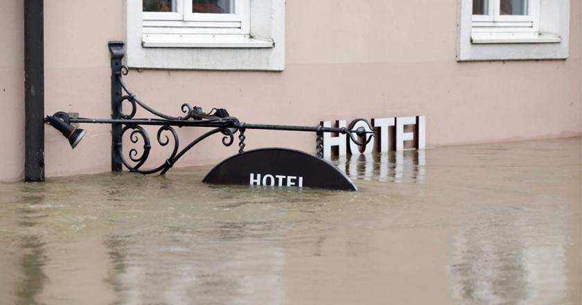 Flooded Hotel