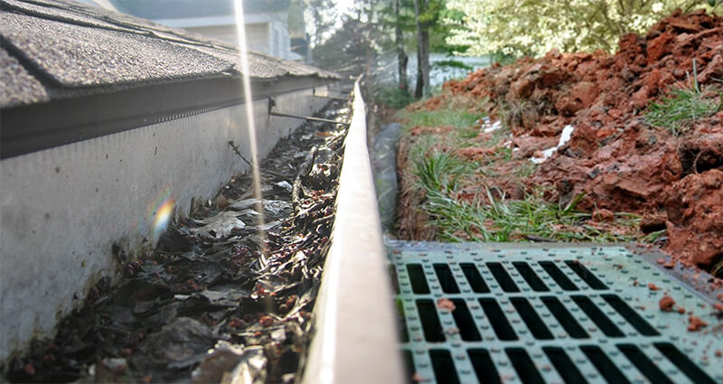GUTTER AND DRAINAGE