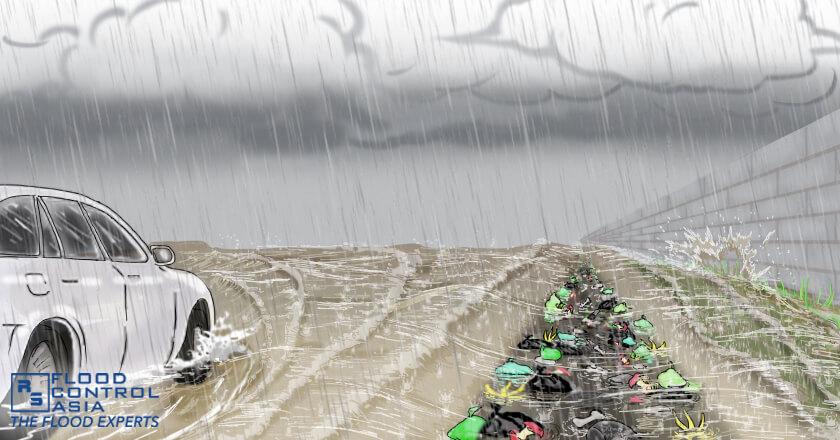 canal flood risk