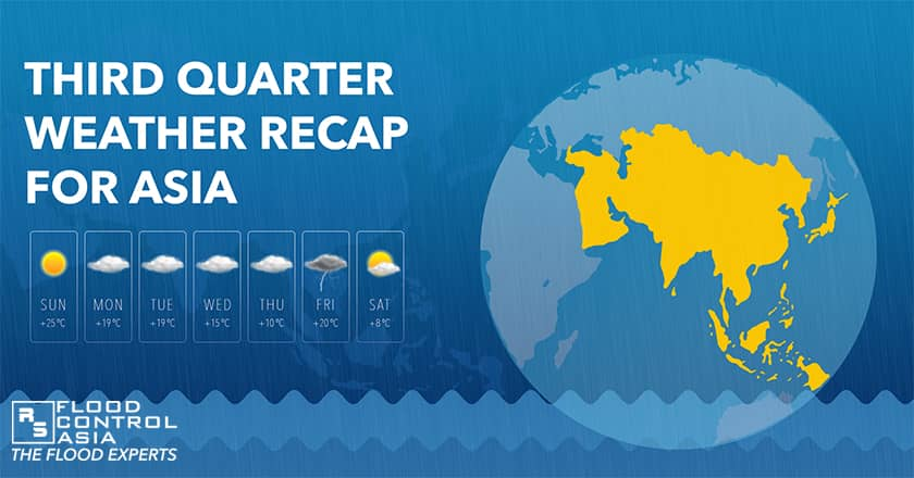 3rd quarter Asia weather