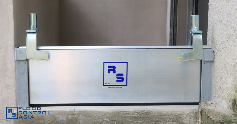 RS Demountable Barrier finish product
