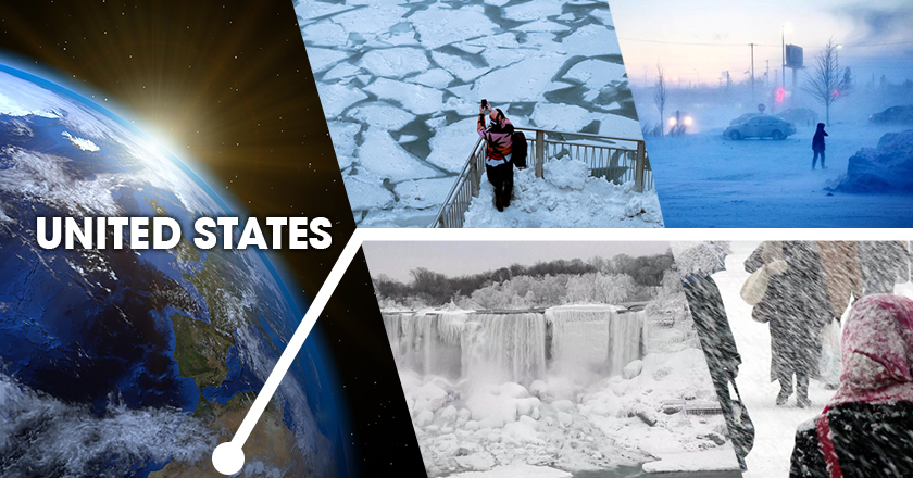 US greeted 2019 with record breaking cold temperatures