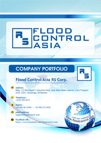 flood control asia company portfolio