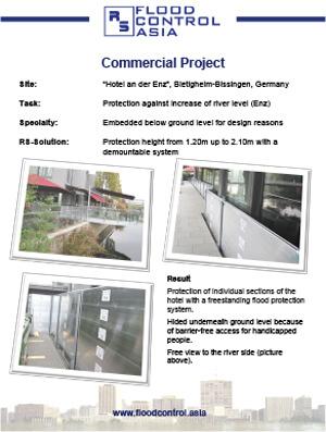 flood case study for hotel an der enz
