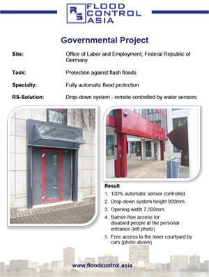 flood case study for labor and employment office germany