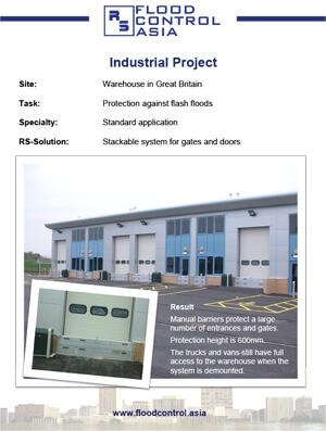 flood case study of a warehouse