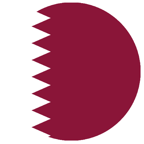 rs global qatar flag circle