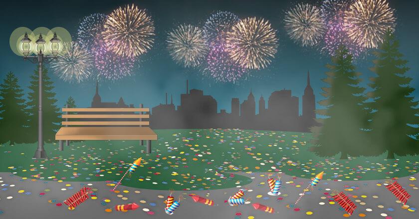 smoke fireworks