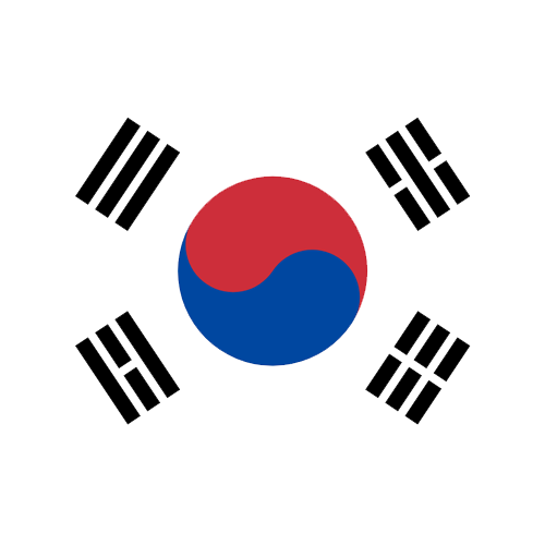 rs group south korea flag circle